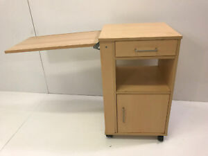 Nachttisch Nachtschrank  Bettnachttisch für Krankenbett Pflegebett(M3017)