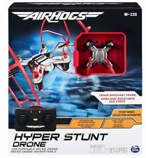 2018 Air Hogs HYPER STUNT DRONE RC Tiny Micro RED Remote Control with FRAME