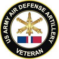 """Army Air Defense Artillery Kosovo Veteran 5.5"""" Decal / Sticker"""