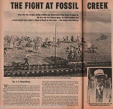 The Fight at Fossil Creek, Adolph Roenigk +Cook,Crawford,Custer,Gogolin