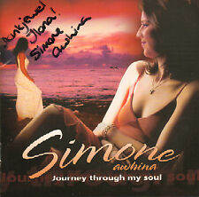 SIMONE AWHINA - JOURNEY THROUGH MY SOUL (2003 CD + PERSONAL NOTE)