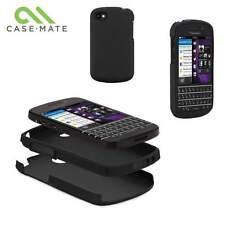 Original Casemate Blackberry Q10 Resistente Funda Hard Shell Cover cm027465-Negro