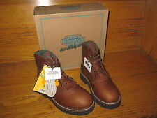 Smokey Mountain Youth Leather Work/Hiking Boot  Brown  Size 13