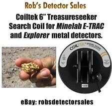 """Coiltek 6"""" Treasureseeker Search Coil for Minelab E-TRAC and Explorer series"""