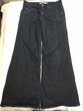 Hudson Signature Wide Leg Jeans W376DLA Button Flap Pocket Cut A00141 PRE SZ 29