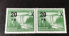DDR  Mi-Nr  449 Plattenfehler F   IV, postfrisch Im Paar