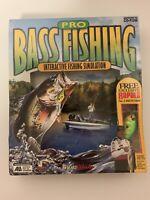 New Pro Bass Fishing: Interactive Fishing Simulation Rapala Lure (PC, 1998) CD
