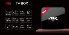 TV BOX ANDROID H96 2GB RAM  4 CORE- 4K UHD - ANDROID 7.1 NUGAT  IPTV KODI