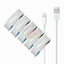 5-PACK USB Data Charging Charger Cables Cords For Apple iPhone 5 S 6 7 8 X Plus