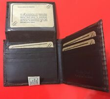 LL Men's Bifold Wallet Hand Crafted In Genuine Leather