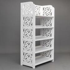5 Tier Heavy Duty Storage Bookcase Organizer Standing Shoe Rack Shelf Cabinet