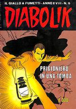 [763] DIABOLIK ed. Astorina 1979 Anno XVIII n.  6 stato Edicola