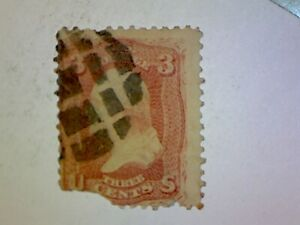 US Stamp 1861 3 Cent Scott 65 Fancy Cancel 716