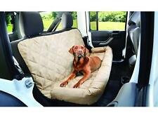 Quilted Padded Car Seat Cover For Dog Pet Backseat car Protector Bolster Deluxe