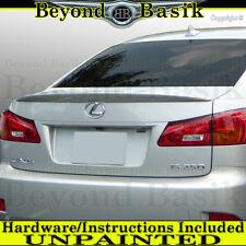 2006-2013 Lexus IS250 IS350 Lip OEM Factory Style Spoiler Wing Tail UNPAINTED