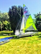 FOR SAIL! RS Feva XL with ROAD TRAILER IN EXCELLENT CONDITION