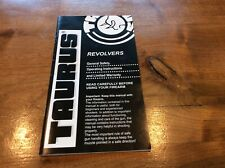 Original Taurus Revolver Manual General Safety & Operating Instructions 27 page