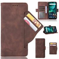 For UMIDIGI Bison /GT, Separable Card Slots Flip Leather Wallet Soft Case Cover