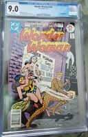 WONDER WOMAN 230 CGC 9.0 BEAUTY ! CHEETAH EARLY APPEARANCE SILVER AGE 1984 MOVIE