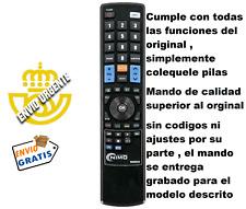 RC054 Mando a distancia de sustitución tv Blu:sens H335B32A , H330W24A  H325W26A
