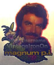 80s Tom Selleck Magnum P.I. PI Hawaii TV Show Orig vtg t-Shirt Iron-On Transfer
