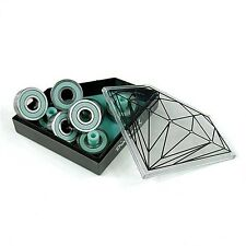 Diamond Supply Co 8mm Smoke Rings ABEC 7 Skate Bearings