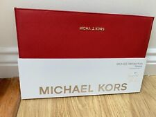 """Michael Kors Saffiano MacBook Air 11"""" Slim Sleeve Case cover red New"""