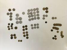Lot de pièces de monnaie françaises 1923 1952 Monaco BON pour 1 franc Louis 2