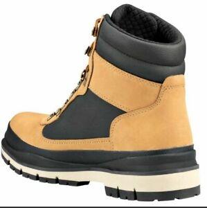 Timberland Men's Field Trekker Waterproof Boot Wheat Nubuck W/BLACK SZ 10.5  NIB