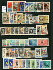 Russia 1959 year set Sc 2158-2283 MNH CV $220