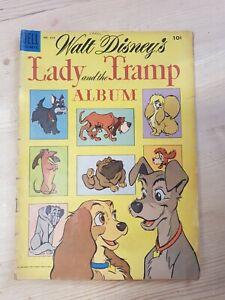 Dell Comics No. 634 Walt Disney's Lady And The Tramp Album 1955 Vintage Comic