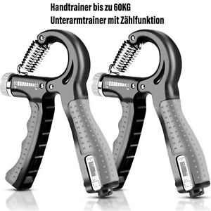 Hand Trainer Underarm Trainer With Counter 5-60KG Adjustable Finger Trainer