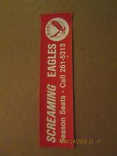 Wha Miami Screaming Eagles Vintage Defunct 1972 Team Logo Bumper Sticker