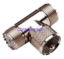 PL T Connector Female/Male/Female NC560 Suitable for CB Radios