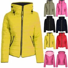 Quilted Puffer Yellow Coats 3fdf04e44