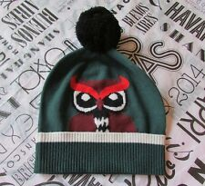 Kate Spade New York Hat Knit Beanie Who Me Owl NEW $68