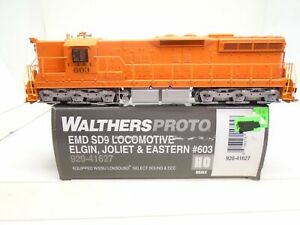 Walthers Proto Ho 920-41627 SD-9, EJ&E 603, Loksound DCC