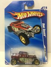 2010 Hot Wheels Red Bone Shaker Hot Rods #143