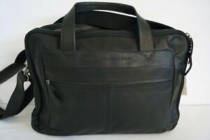 Chesterfield RV-Aktentasche Businesstasche schwarz glattes Rindleder NP: 229,95€