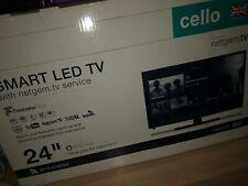 "Cello C24FVP 24"" Full HD LED Smart TV with Alexa - Piano Black"