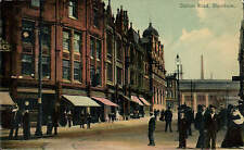 Blackburn. Station Road in West End Series by A.E. Shaw, Blackburn.