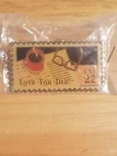 """22 cents """"love"""" pins. """"LOVE YOUR DAD"""""""