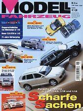 Modell Fahrzeug 2002 6/02 Magazin BMW R1150R Kadett B Coupé Nissan 350 Z Audi