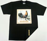 STREETWISE GALLOS JUGADOS T-shirt Urban Streetwear Tee Men's Black New
