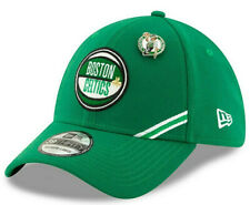BOSTON CELTICS NBA NEW ERA 39THIRTY FLEX M/L 2019 DRAFT GREEN HAT CAP NEW! PIN