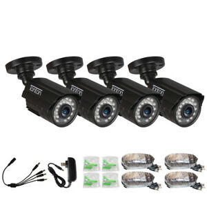Tonton 1000TVL Security Camera 960H Home Waterproof Metal 24pcs LED IR Night Hot