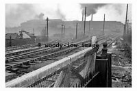 bb0707 - Brymbo Steelworks in 1962 , Wales - photograph 6x4