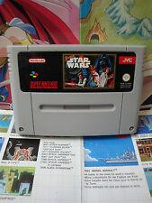 Super Nintendo SNES:Super Star Wars [TOP & 1ERE EDITION RARE] SEUL - Fr