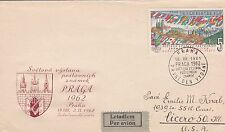 CZECHOSLOVAKIA 1962 FIRST DAY COVER / FLAGS
