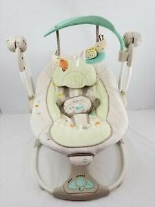Ingenuity Convert Me Swing-2-seat Portable Swing Moreland Baby Newborn